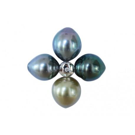 Collier Tiaré en perles de Tahiti