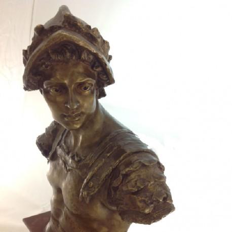 Bronze conquistador
