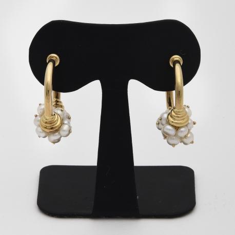 Créoles et perles