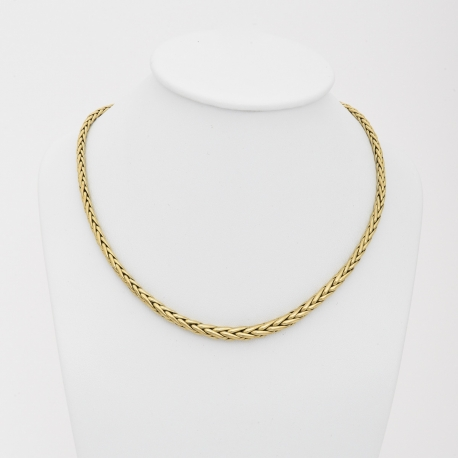 Choker maille palmier