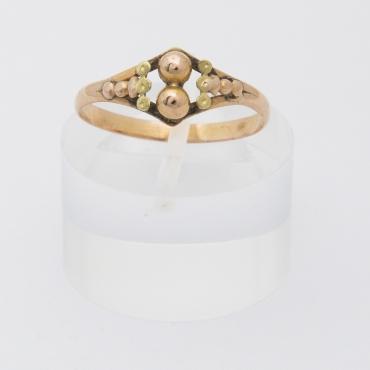Bague tourbillon perle