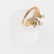 French Art Nouveau Leaves ring