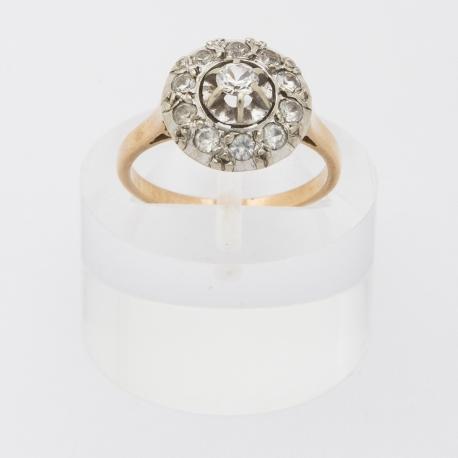 Round 1900 French ring.