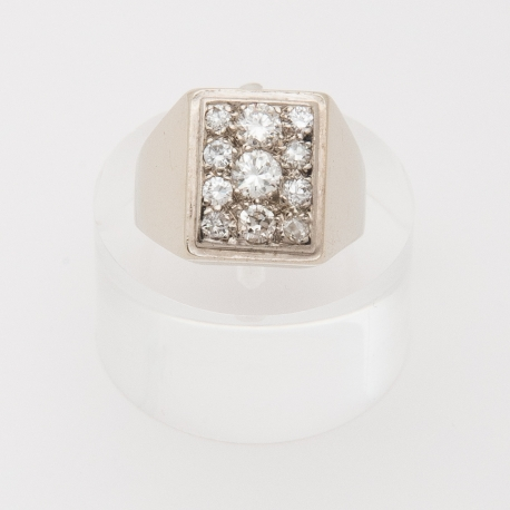 French 1950 square ring