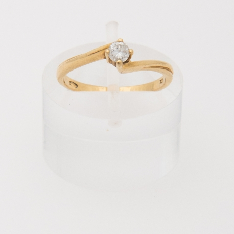 French engagement ring