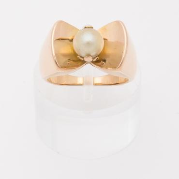 Vintage Pearl Tank ring