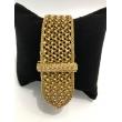 Bracelet ceinture tressée 1950