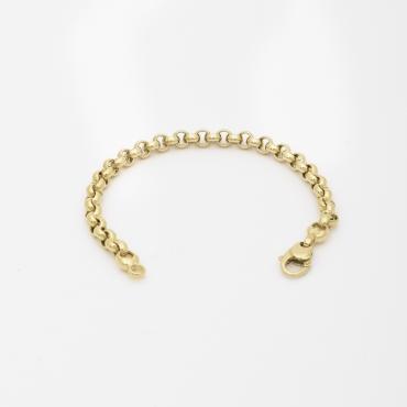 Bracelet maille Forçat rondes