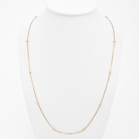Chaîne Serpent et Perles d'Or