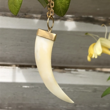 Ivory tooth Pendant