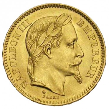 20 Frs Or Napoléon