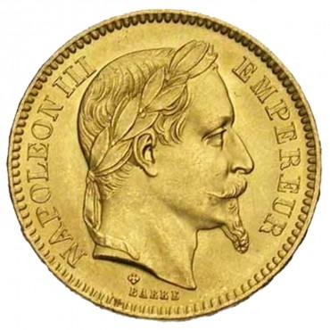 20 Frs Or Napoléon