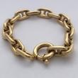 Navy Mesh Hermes styled Bracelet