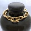 Bracelet style Hermes Maille Marine