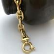 Big Navy Mesh Hermes styled Bracelet