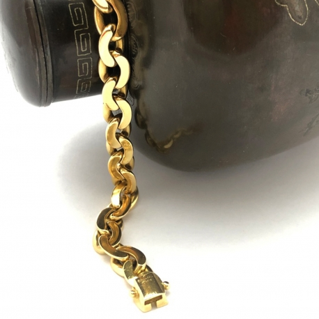 Bracelet Boucheron Maille Haricot