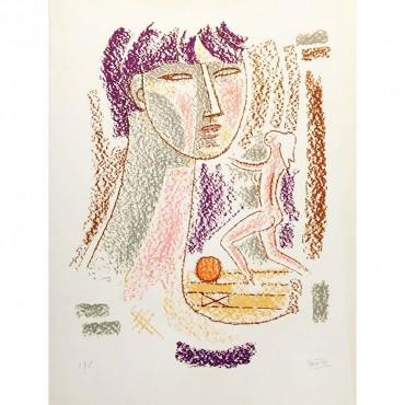 Mario Tozzi Lithographie Femmes chefs